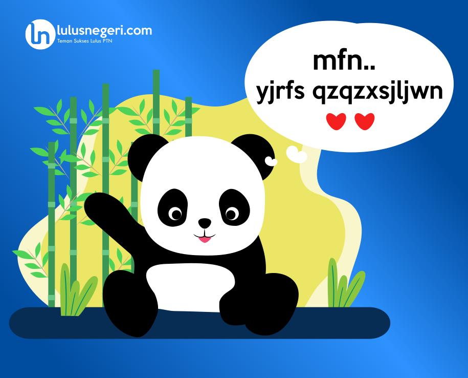 Bahasa Panda?